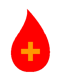 Red Drop of Liquid With Medical Cross Inside Symbolizing Medical USP Lanolin