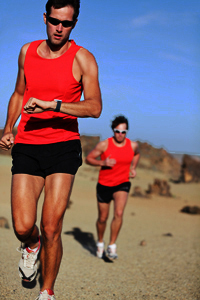 Two Male Atheletes Running in Desert at Risk For the Development of Dry Penis Skin and Foreskin (Dry Penile Skin in General)